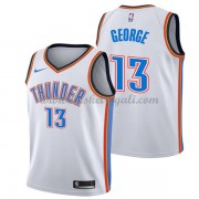 Maglie NBA Oklahoma City Thunder 2018 Canotte Paul George 13# Association Edition..
